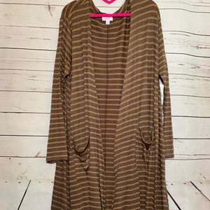 Chocolate Brown LuLaRoe Sarah Cardigan!!